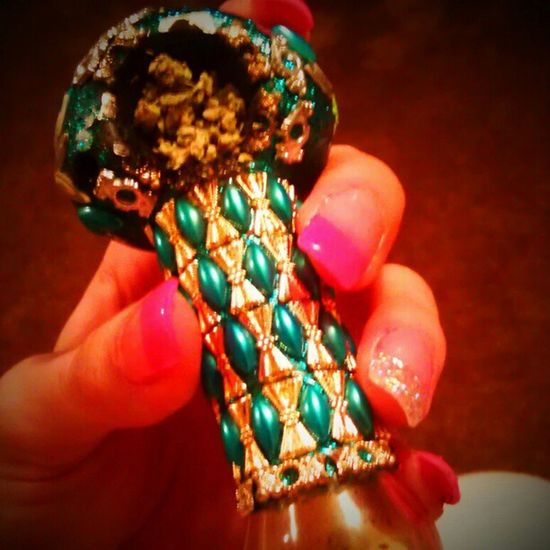 Nailsdid Freshmani Beweled Pipe greenery maryjane <3 liftofff! ¦)