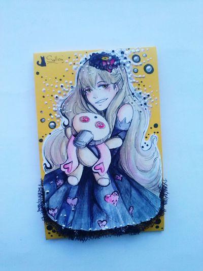 Sallon ArtWork Love Drawing ❤ Summer ☀Picture EyeEm Gallery Drawing Art Girl Art Gallery