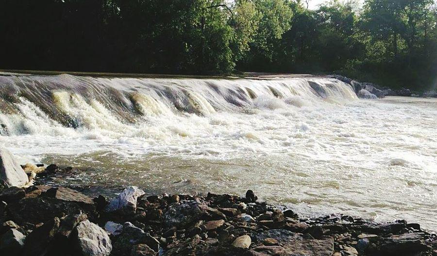 Arkansas Waterfall Fishing
