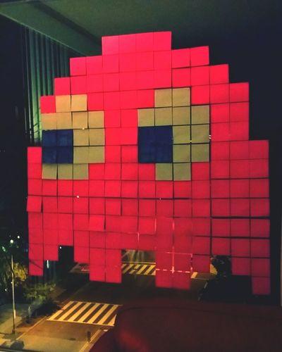 Washington, D. C. Paper Art Pacman Art Post It Note Post Its Post It Pacman