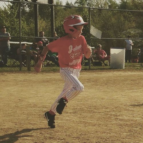 Jesse James playing some ball