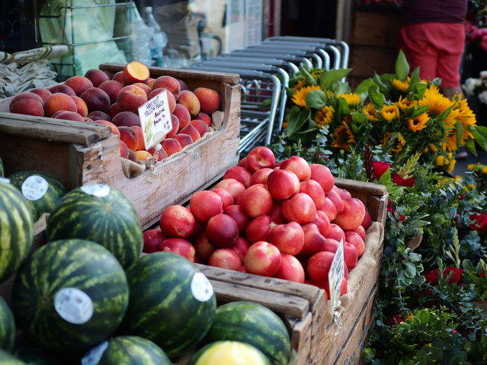 street fruits stall, Sanfrancisco. Choice Day Food Food And Drink For Sale Freshness Fruit Healthy Eating Market Market Stall Nature No People Outdoors Pomegranate Variation