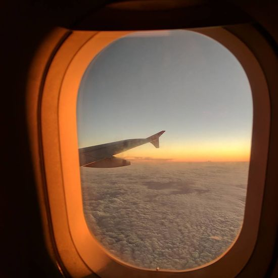 Airplane Aerial View Flying Travel Sunset Window Sky Aerospace Industry No People EyeEm Best Shots Been There, Done That BeenThereDoneThat Been There. Done That. Air Vehicle My View Eyem Gallery Eyem Best Shot
