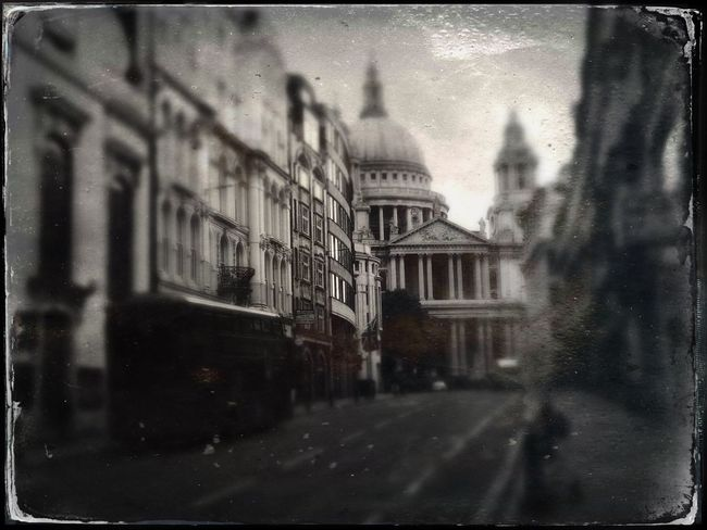 Saint Paul's Cathedral, London Tintype England London Cityscape Built Structure Window No People Day Outdoors City