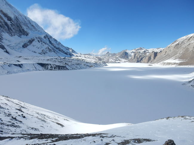 Frozen Tilicho lake Frozen Lake Water Nepal Snow EyeEm Selects 4919 Meters Altitude Lake