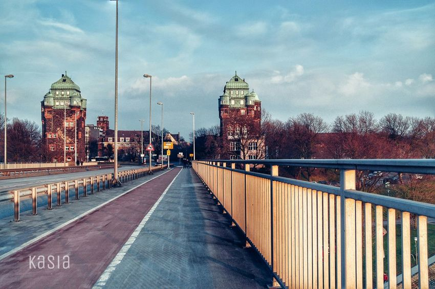 Germany Duisburg Ruhrort Architecture Bridge Good Morning