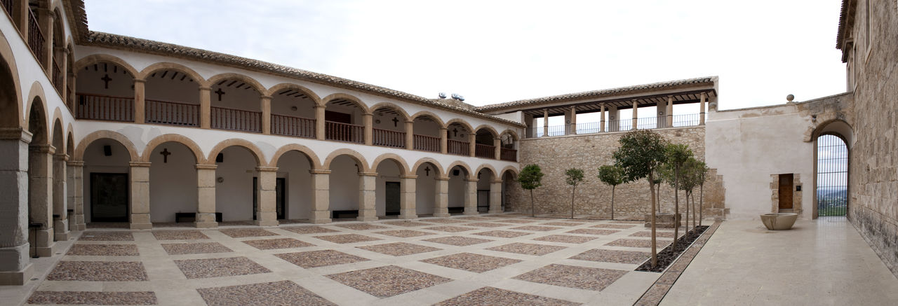 Caravaca Caravaca De La Cruz Catholic Christanity Cloister Monastery Monastery Of Stone Murcia Panorama Panoramic Pilgrimage Pilgrimage Church Sanctuary  SPAIN