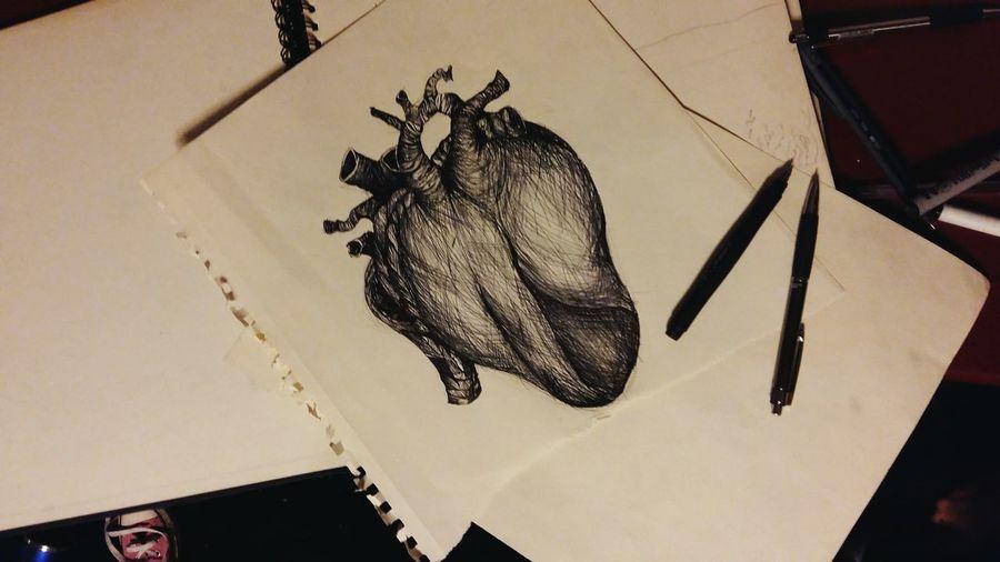 💝 Hello World Draving Heart