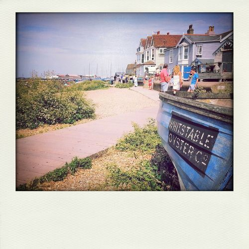 Whitstable, Kent Summer Holidays 2014 Exploring Learning New Things