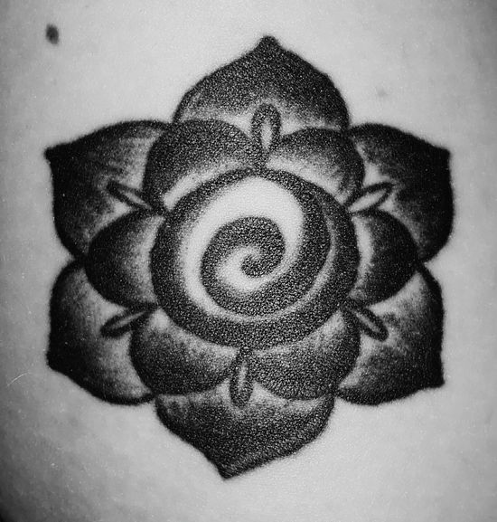 My tattoo Tattoo ❤ Close-up Black And White Young Adult Tattooed