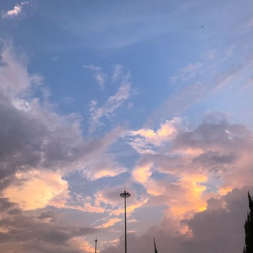 Cloud - Sky Sky Low Angle View Silhouette Sunset No People Beauty In Nature Outdoors Nature Scenics Day