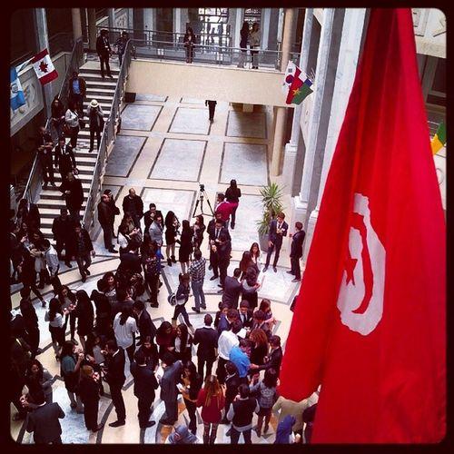TIMUN2014 Sesame Tunisia Tunisian Flag