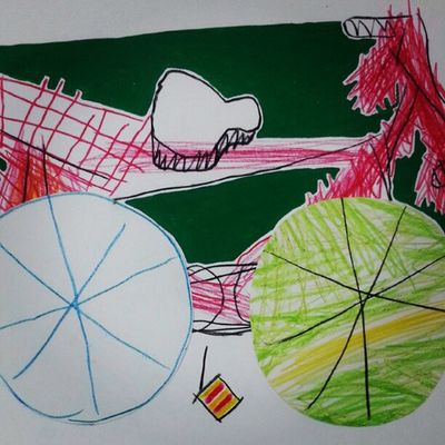 """Bicycle"" sketch"