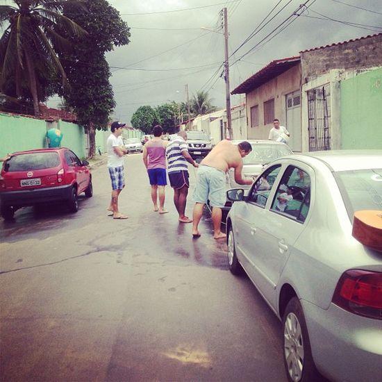 Car wash day Instamoment Friends Lavando Carros iphone5 instagood