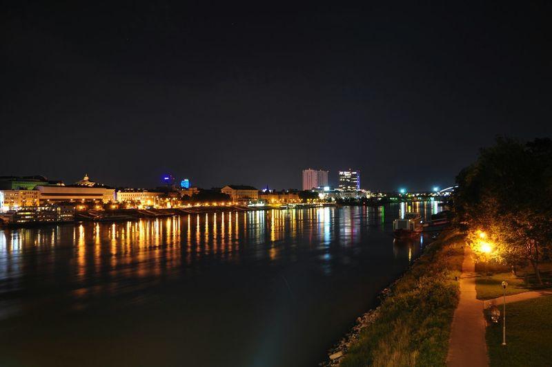 Dunaj Bratislava Slovakia Danube City Cityscapes Nikond90