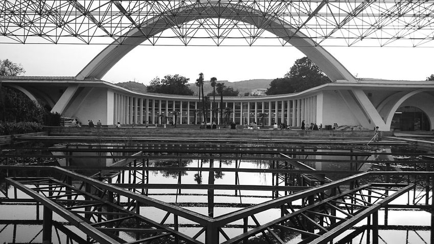 Expo Georgia Arcitecture Black And White