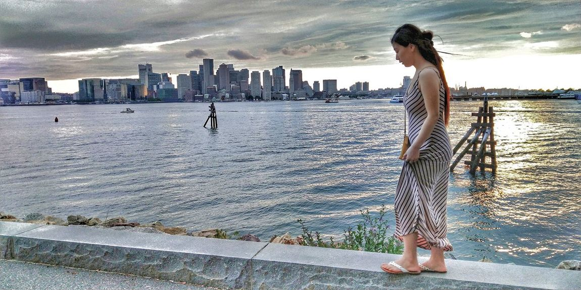 Popular Popular Photos First Eyeem Photo FirstEyeEmPic Life Happy Boston Boston, Massachusetts Wife City Water Young Women Sea Women Beach Standing Full Length Sand Sunset Office Building Shore Sandy Beach Horizon Over Water Calm Skyline Tall - High Tower Cityscape Skyscraper Seaside