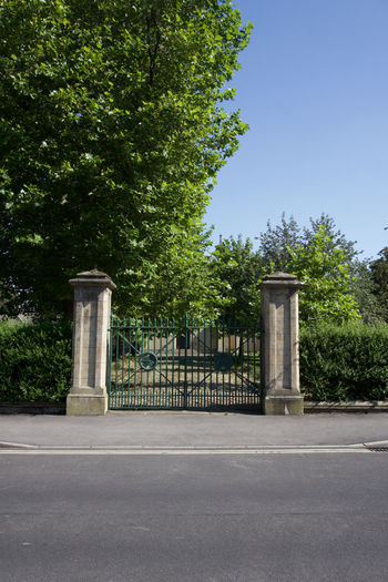 Old gates in