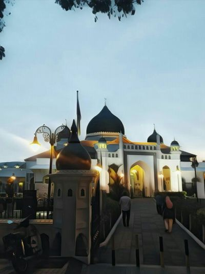 Penang Malaysia Muslim Architecture Travel Vietnam