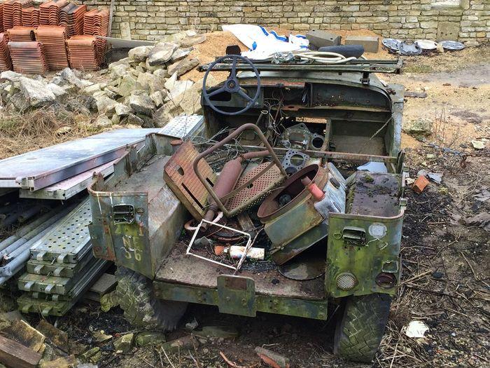 Jeep ??en très mauvais état Iphone6+ Iphone6plus France Charente Recyclage Car Automobile Vintage Cars Voiture Ancienne Voiture