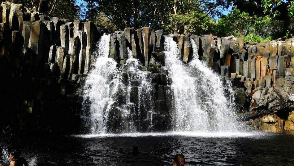 Sunday outings Beautiful Waterfall