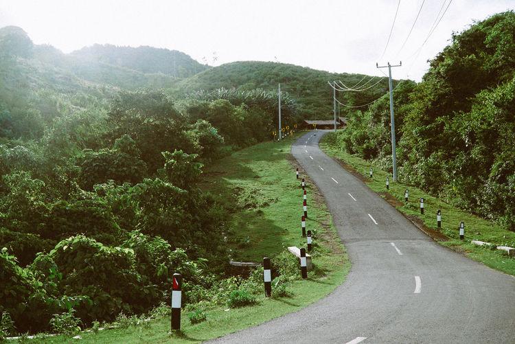 Road in Lombok.