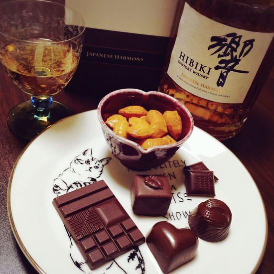 Valentine's Day  ハッピーバレンタイン Chocolate♡ Chocolates Chocolate おかき チョコレート ウィスキー Whisky バレンタイン ちょこ おかき