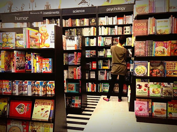 Stand Out From The Crowd Who's there? Bookstore BookLovers Bookislove