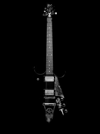 Rashedsphotography19 THIS IS MY GUN Music Musical Instrument Electric Guitar Guitar No People Black Background Creativity Detail Mobilephotography Photooftheday Eyeem Effects Randomshot Photography EyeEm Gallery Eyeemphotography Graphics Bangladesh Abstract Classic Photified Eyem Gallery Blackandwhite First Eyeem Photo Vintage