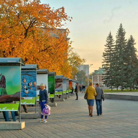 Streetphotography Novosibirsk City