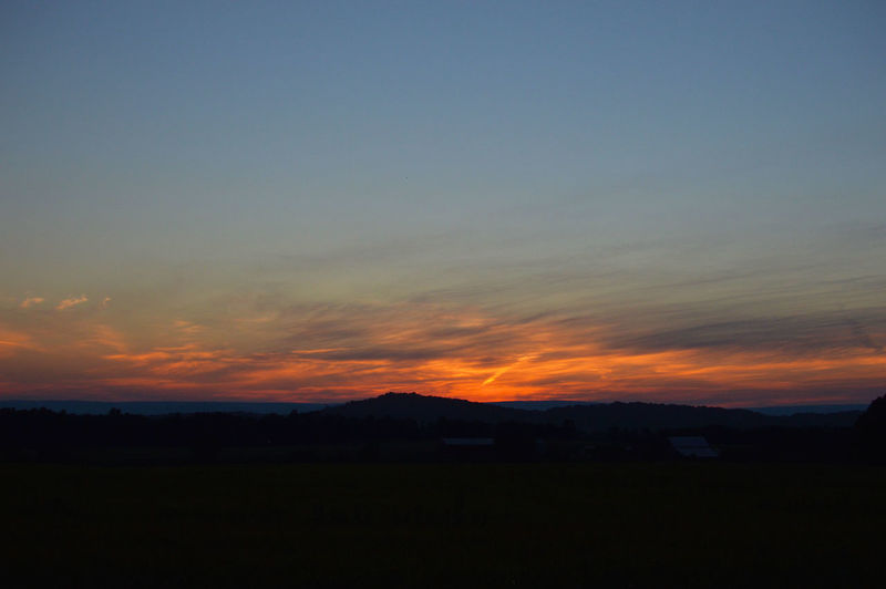 Gettysburg Gettysburg Pennsylvania Gettysburg,pa Mountain Silhouette Mountains Nature Nature At Its Best Nature At Its Finest Orange Color Sunset Fine Art Photography Fine Art No Filter No Edit/no Filter No Filters Or Effects No Flash 43 Golden Moments