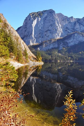 Alps Alpine Altaussee Nature Austria Reflection Autumn Mountain Beauty In Nature Scenics Nature Tranquil Scene Mountain Range Tranquility Landscape Water No People Lake