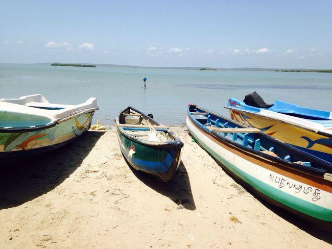 Today morning went to the kalpitiya beach