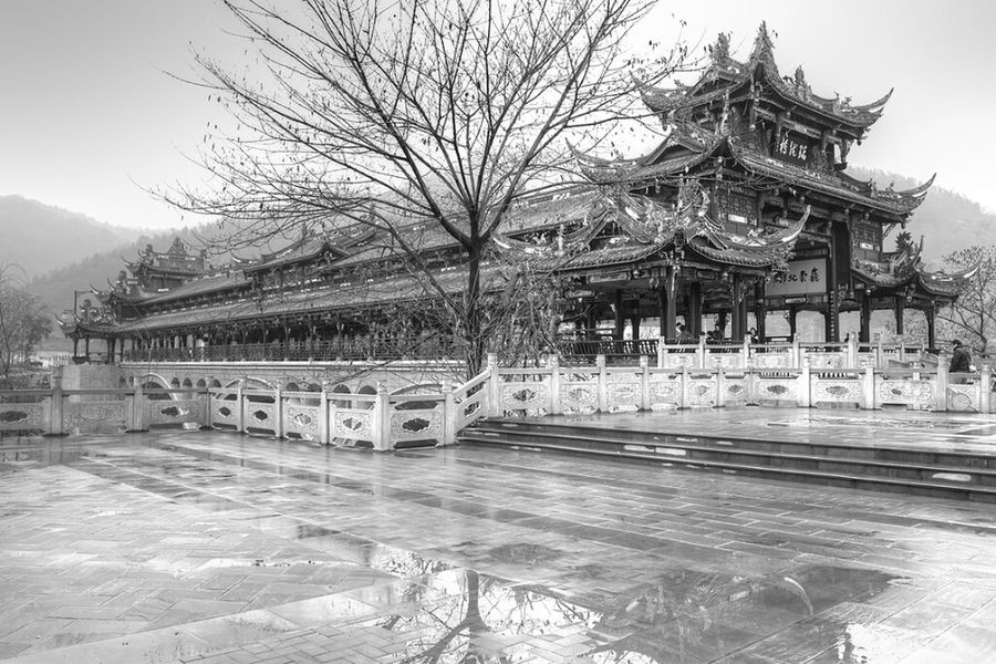 Architecture Nature Black And White Landscape Taking Photos Traveling In China Ancient Architecture