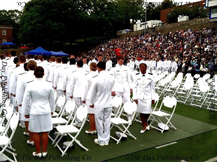 The class of 2013 processes in.