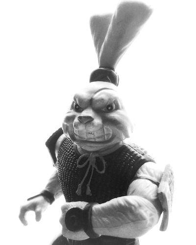 Usagi Yojimbo Toy Toy Photography Teenage Mutant Ninja Turtles  Usagiyojimbo First Eyeem Photo Blackandwhite Black & White Black And White Warrior ShotOnIphone