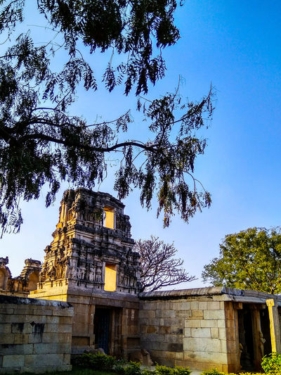 HISTORY HAS NO HISTORY... A 600 YEAR OLD CHENNAKESAVA TEMPLE IN SOMPALYAM NEAR MADANAPALLI... IN DILAPIDATION Dilapidation Built Structure Architecture Outdoors Sky No People Low Angle View Day Tree Nature Building Exterior
