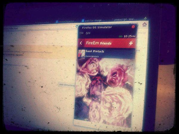 Testing FireEm - Firefox OS Client