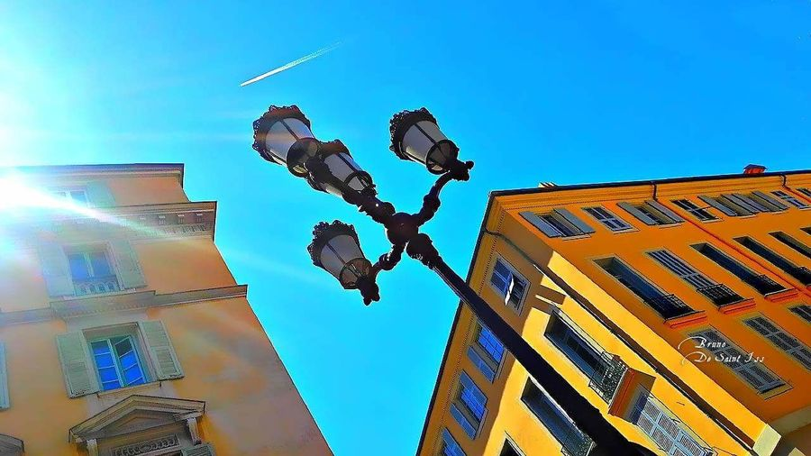 Low Angle View Building Exterior City Live Life Travel Travelphotography Telling Stories Differently Tourist Tourism Nice / Nizza Enjoying Life Hello World Travel Destinations Contemplation Façade Architecture HY Nikon D5100  Hello Word Nice, France Quiet Moments