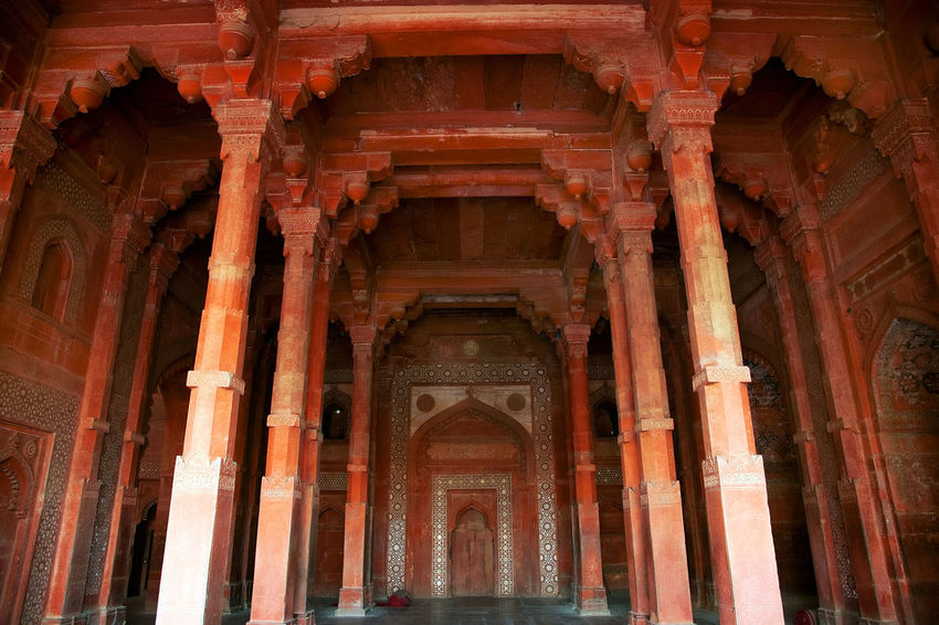 Agra Agra Fort Architecture ASIA India Jama Masjid Red Fort Street Tourism Destination Travel Travel Photography