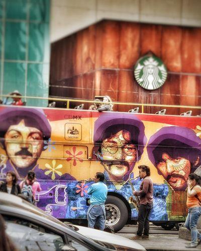 Graffiti Street Art Outdoors City Multi Colored Day Sax Saxophone Saxophonist Saxophone Player Saxofone🎷 Beatles Beatlesmania Beatles Everywhere