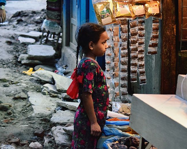 Nepal Kathmandu Nepal Travel Religion One Person Spirituality Women People Outdoors Only Women Adult Day Young Adult Adults Only EyeEmNewHere The Portraitist - 2017 EyeEm Awards The Photojournalist - 2017 EyeEm Awards The Street Photographer - 2017 EyeEm Awards Live For The Story Place Of Heart