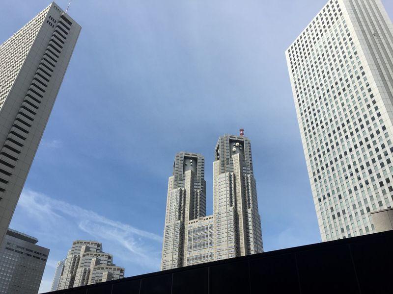 IPhonephotographer Clouds And Sky Urban Shinjuku
