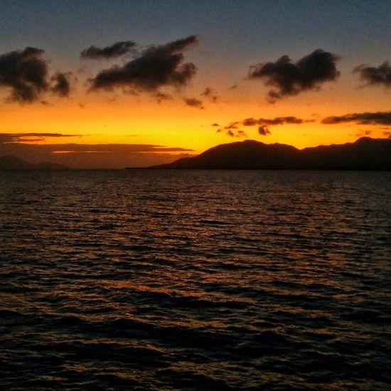 Sunrise Ocean View Ocean Fnq Cardwell Queensland Australia