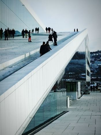 Oslo Operahouse Stories From The City The Architect - 2016 EyeEm Awards Buildings Operahouse Oslo Tim Bailie Phone Photography Architecture Norway Oslo Opera House