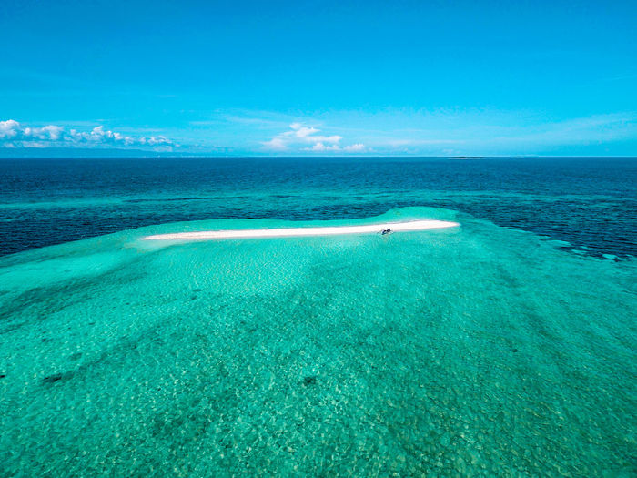 Aerial View Beauty In Nature Blue Cloud - Sky Day Eyeem Philippines Horizon Over Water Landscape Nature Outdoors Scenics Sea Sky Water Lost In The Landscape Perspectives On Nature