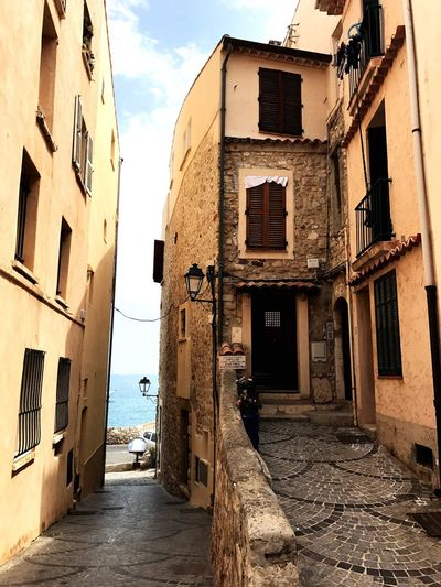 Antibes Vieille Ville Sea Architecture No People Sunlight