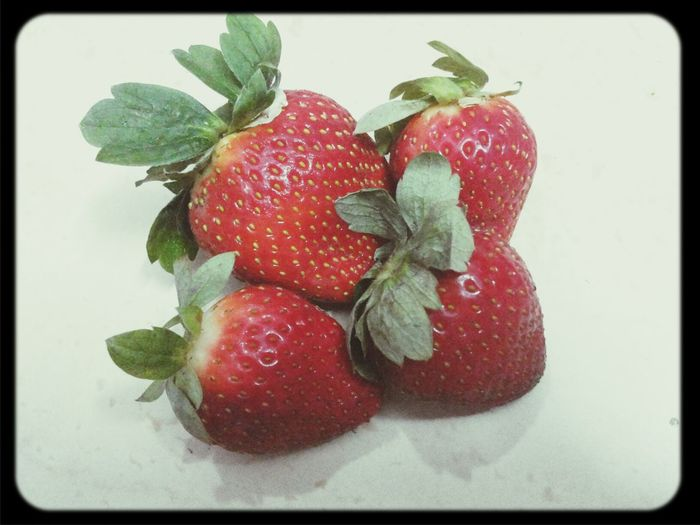 Extra delicious! Enjoying Life Redfruits Strawberries Subhan'Allah :)