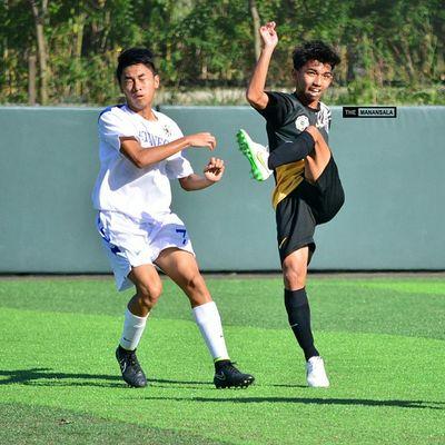 ⚽ . . . UAAP Uaap77 Uaapseason77 ADMUvsUST ateneo ust sbspotlight soccerbible juniors football themanansala