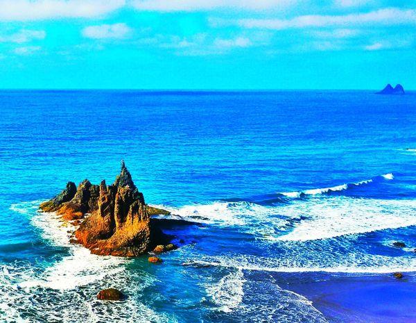 Horizon Over Water Nature Water Scenics Beauty In Nature Tranquil Scene Tranquility Outdoors Ocean Ocean View Benijo Benijo Beach 3XSPUnity